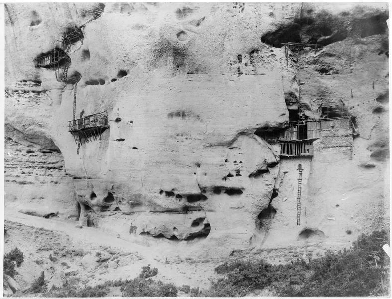 Habitations des moines