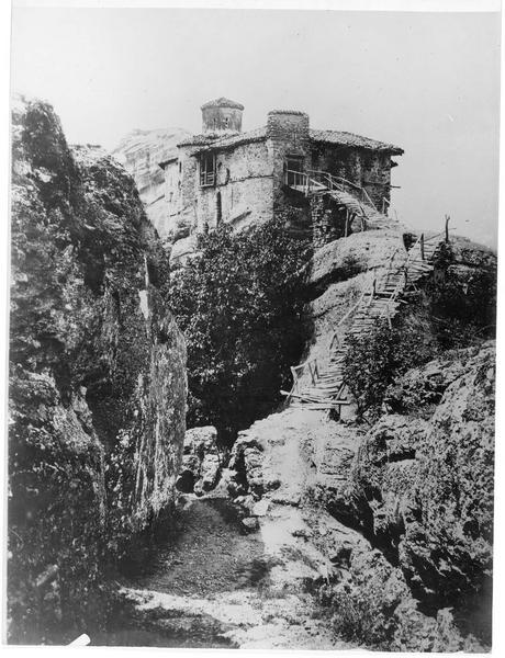 Monastère sur un rocher près de Kalabaka