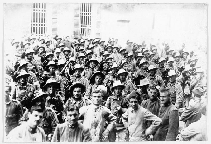 Armée italienne: bersagliers (infanterie)