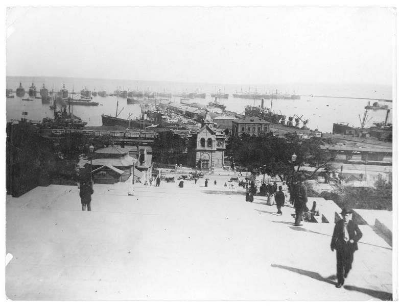 Le port russe d'Odessa, en mer noire