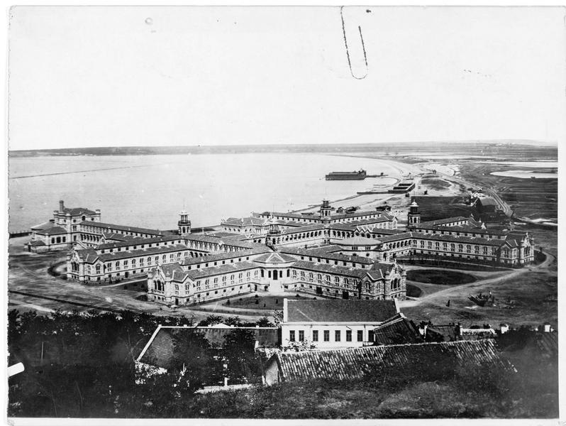 Vue d'ensemble de l'arsenal d'Odessa