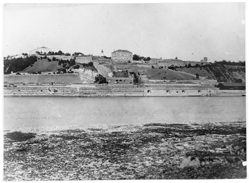 Vues des fortifications
