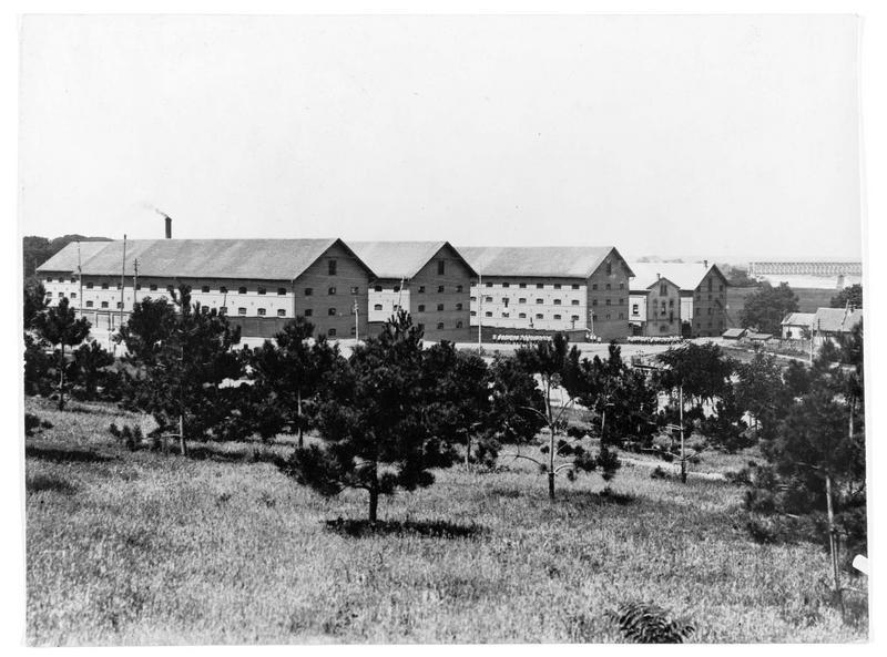 Les casernes allemandes d'infanterie