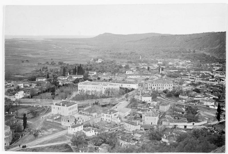 Vue panoramique de Valona (en italien)