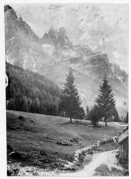 La Cime de la Madone, près de San Martino di Castrozza, dans les Dolomites