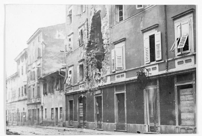 Maison bombardée