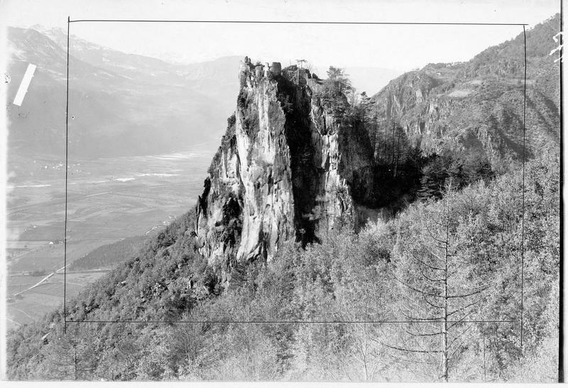Les ruines de Greifenstein dans la région de Bozen (en allemand)