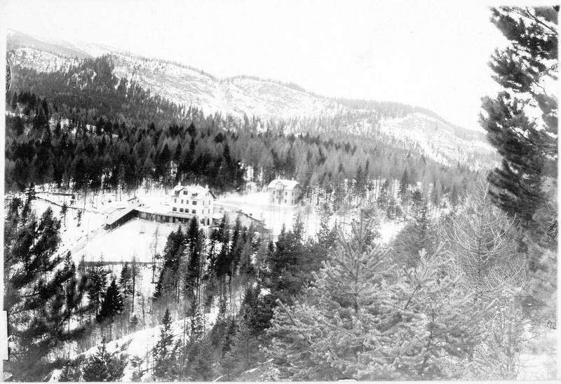Le point de vue du Mendel près de Méran (en allemand)