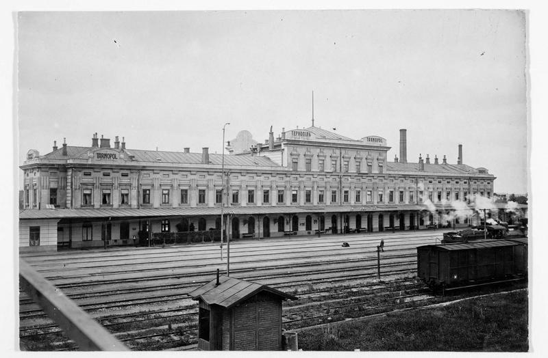La gare de Tarnopol (en polonais)