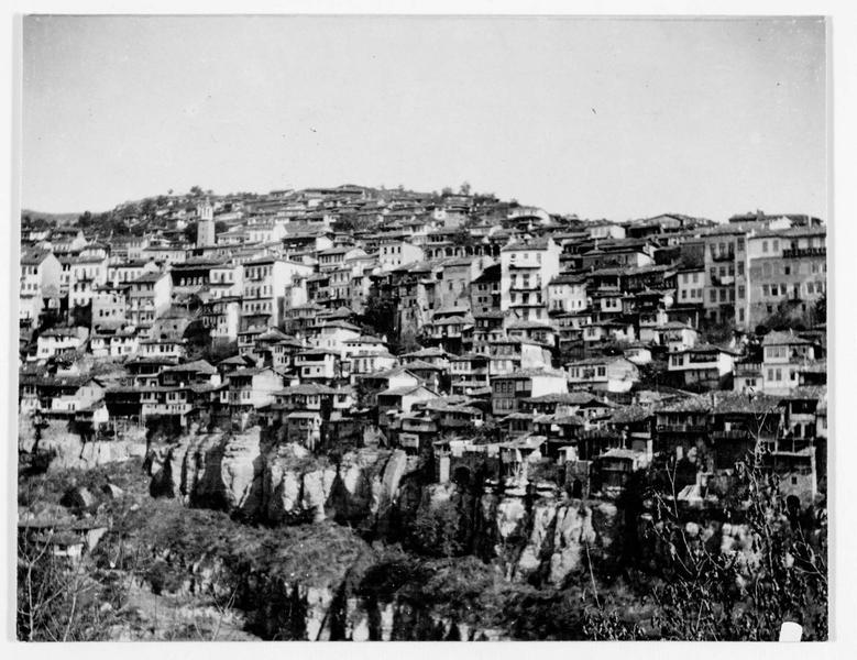 Vue d'ensemble de la ville de Tirnovo