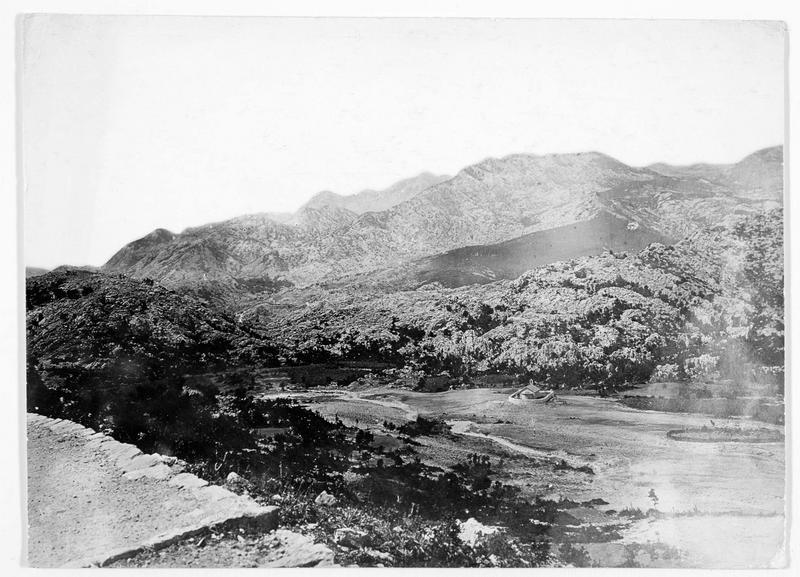 Le mont Lovcen à 1759m d'altitude