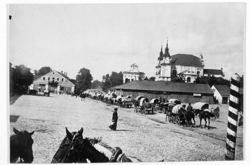 Convoi d'approvisionnement allemand