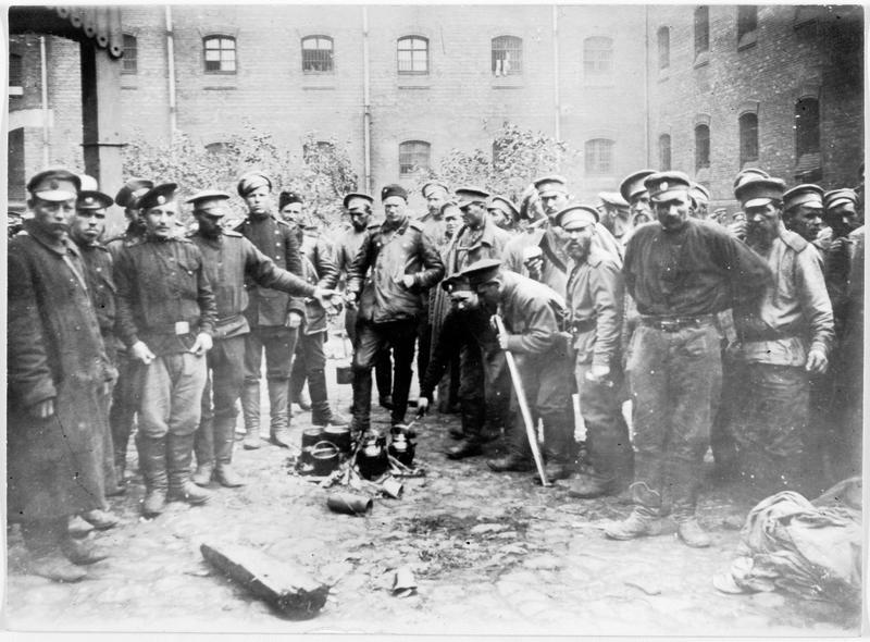 Prisonniers russes dans la forteresse de Novo-Georgievsk
