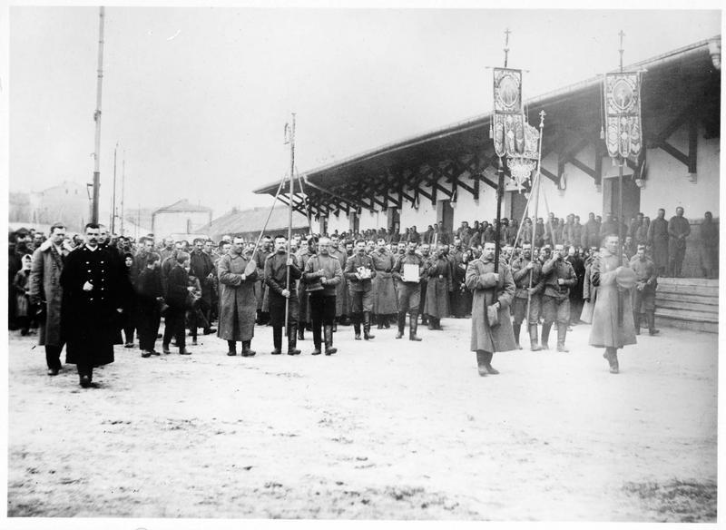 Procession militaire