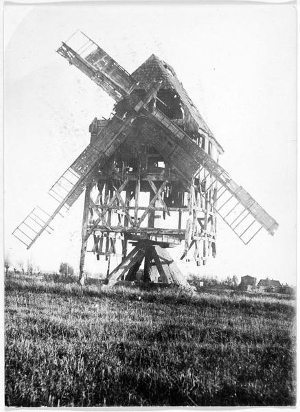 Moulin détruit près de Sochaczew