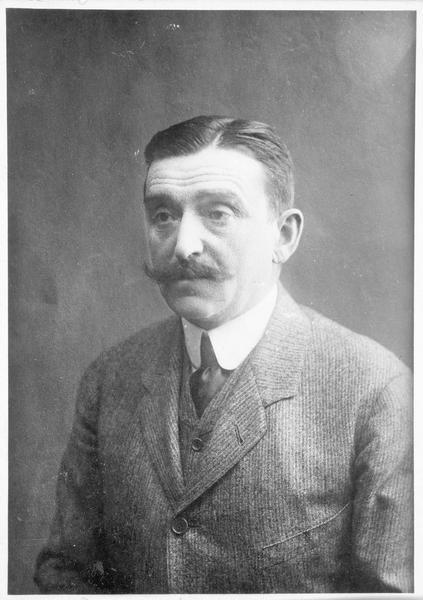 Portrait du prince Lubomirski, président du conseil municipal de Varsovie