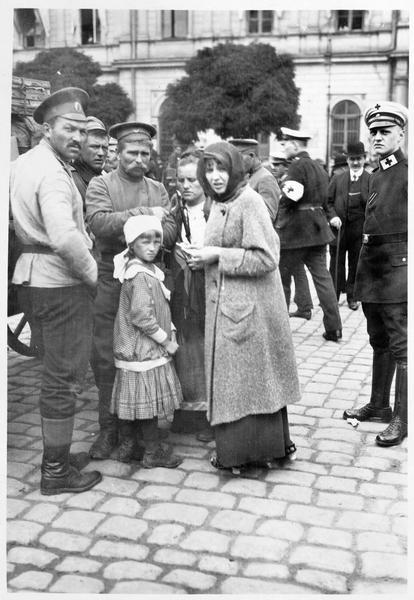 Les prisonniers russes de Novo-Georgievsk