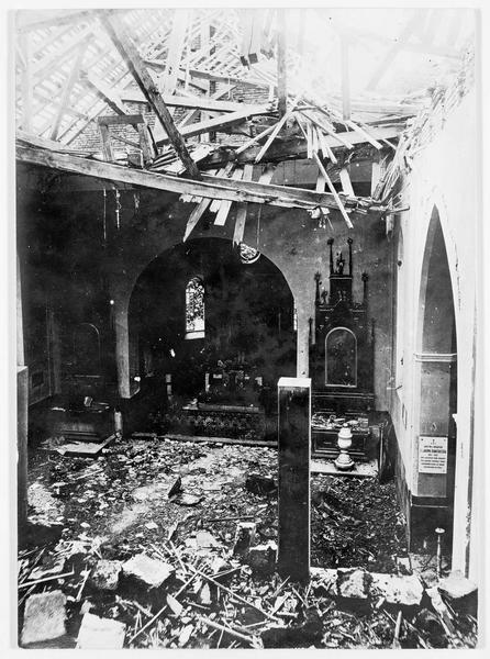 Front oriental. Eglise de Zielono, détruite