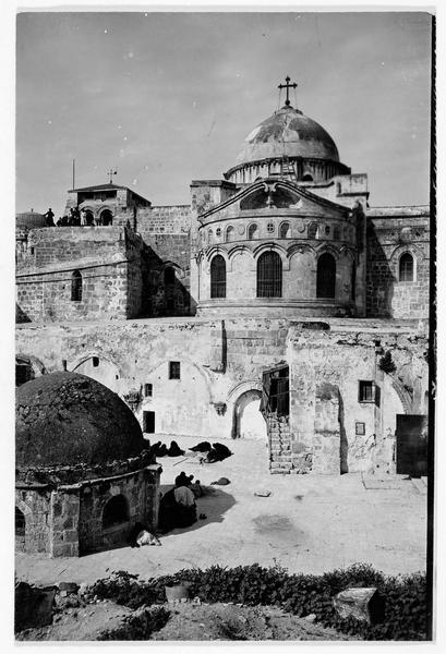 Vue de l'église du Saint-Sépulcre