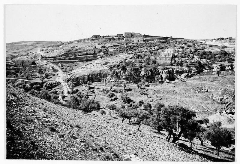 Paysage près de Jérusalem