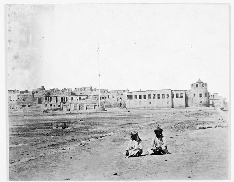 La ville de Buschir, dans le golfe persique, contre laquelle les Turcs sont en marche