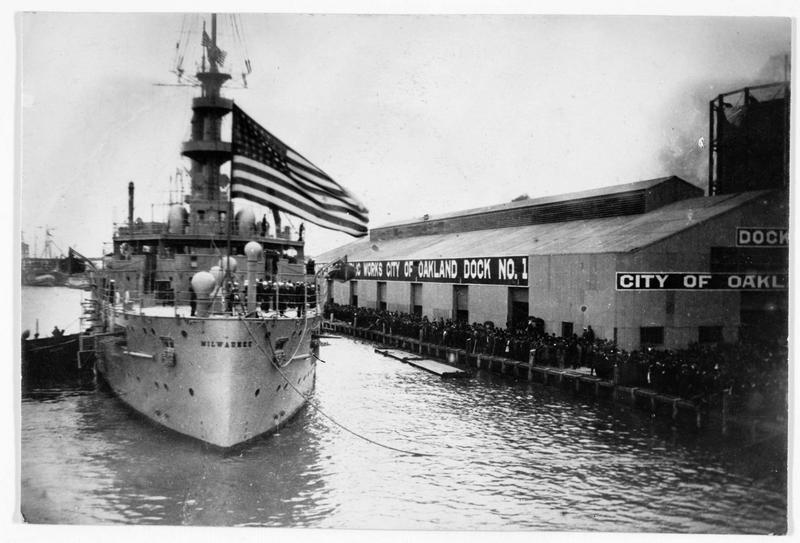 Le Milwaukee, nouveau bateau de guerre américain