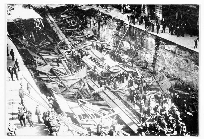 La terrible catastrophe du métro de New York qui fit de nombreuses victimes