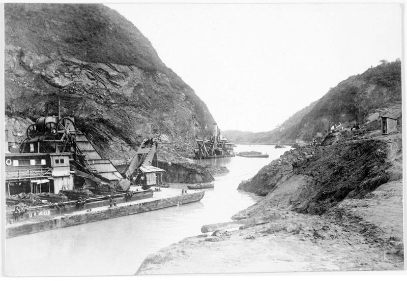 Vue du canal de Panama
