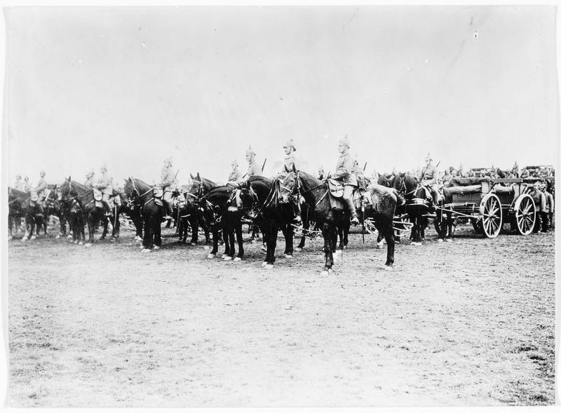 Front oriental : artillerie allemande de réserve