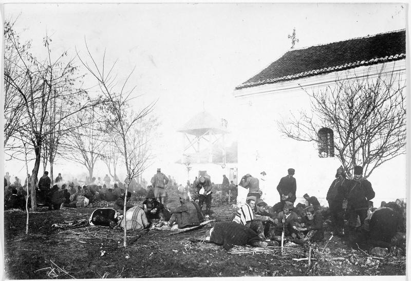 Camp de prisonniers serbes
