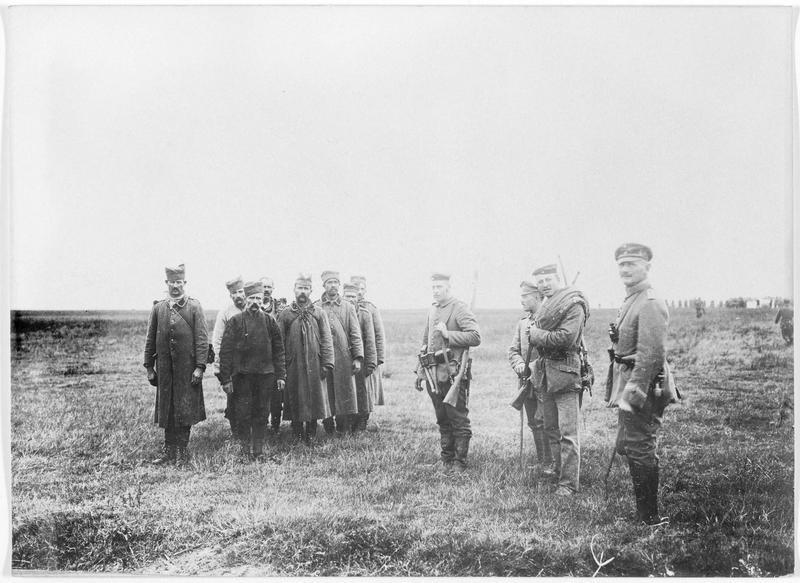 Prisonniers serbes dans la région de l'Amsel
