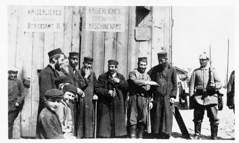 Groupe de juifs polonais