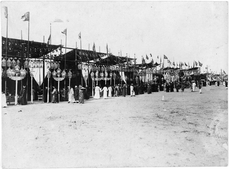 Les tentes de la Fête des Prophètes au Caire