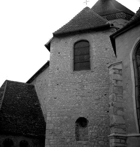 Chapelle absidale, côté est