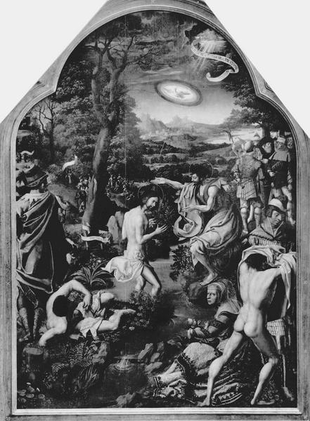 tableau : baptême du Christ (le)
