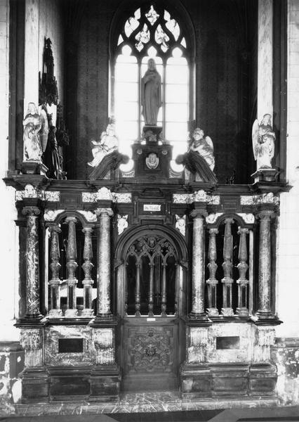 clôture de chapelle de N. Rembert