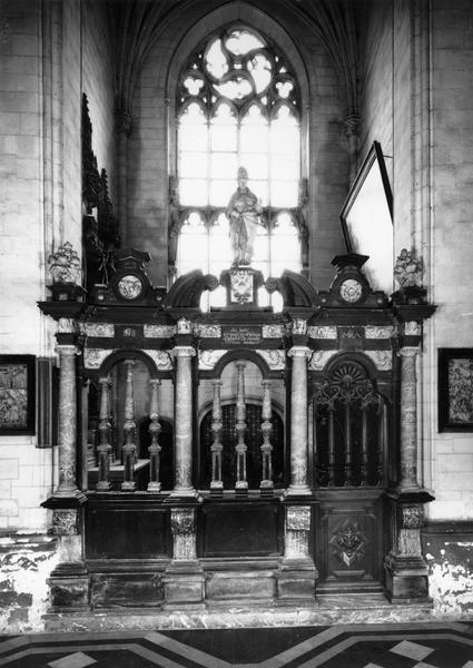 Clôture de chapelle du Saint-Sépulcre