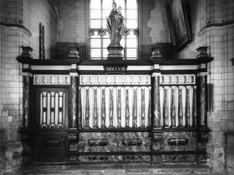 clôture de chapelle de l'Assomption