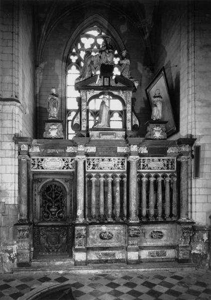Clôture de la 3e chapelle nord (Saint-Erkembode)