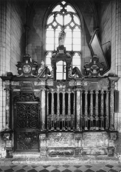 Clôture de la 4e chapelle nord (Saint-Maxime)