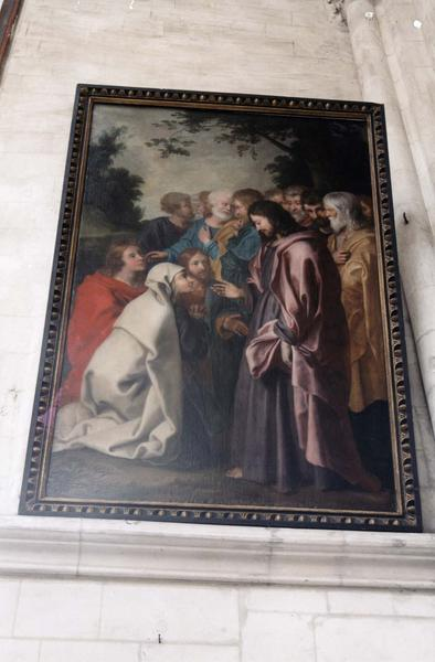 tableau : Jésus et la Cananéenne