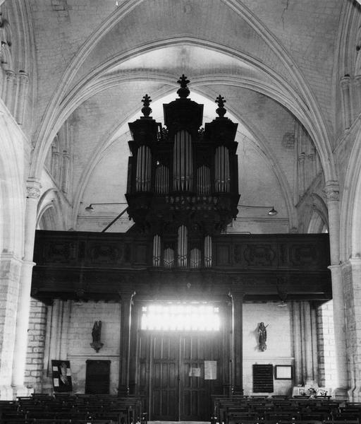 buffet d'orgue, garde-corps de tribune
