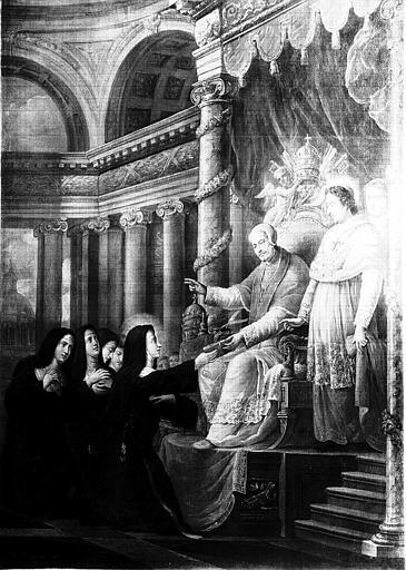 Peinture sur toile : Scène de la vie de sainte Thérèse