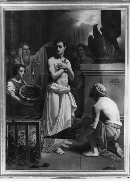 tableau : martyre de saint Laurent (le), vue générale
