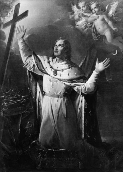 tableau : saint Louis roi, vue générale