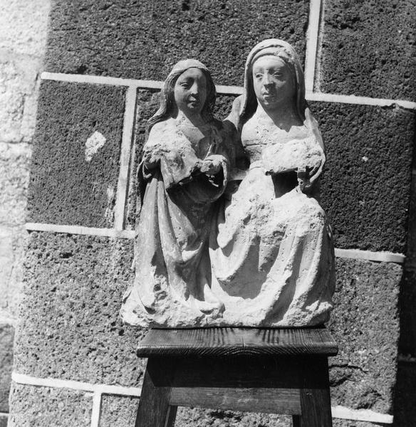 Groupe sculpté : sainte Filiation