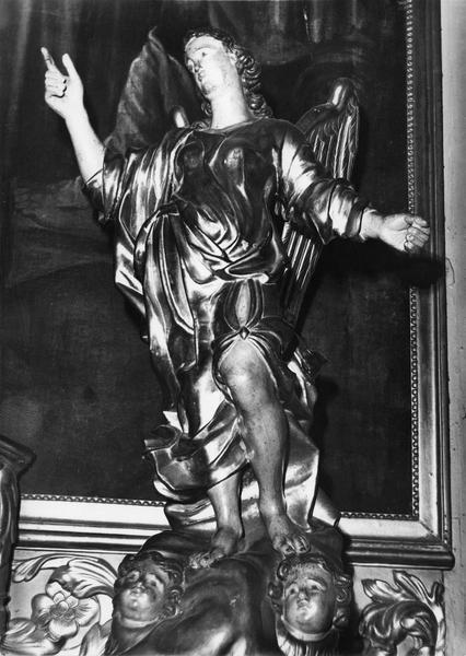 2 statues : deux anges