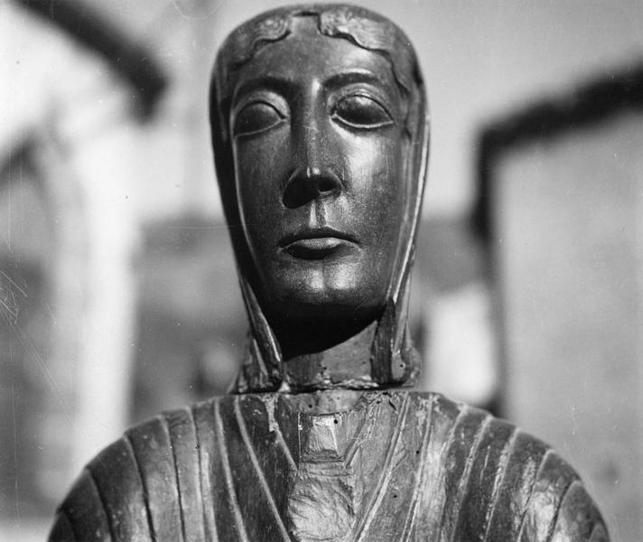Statue-reliquaire : Vierge en majesté