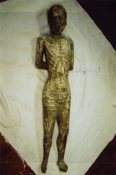 Statue : Christ de la Flagellation ou saint Sébastien