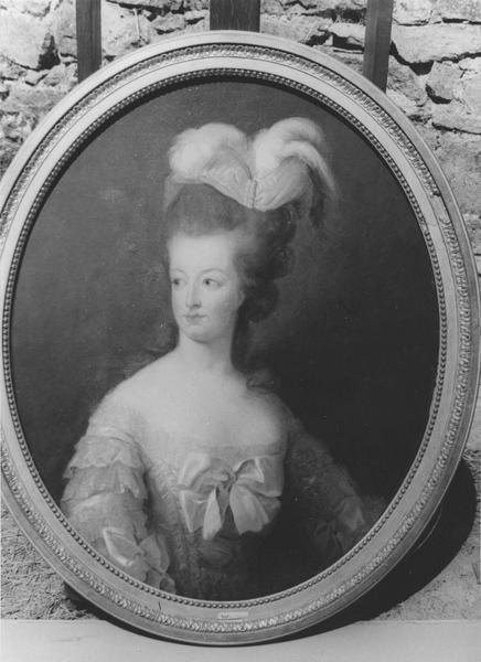 Tableau : portrait de Marie Antoinette